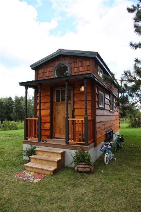 tiny houses minnesota family of 4 living in 207 sq ft tiny house