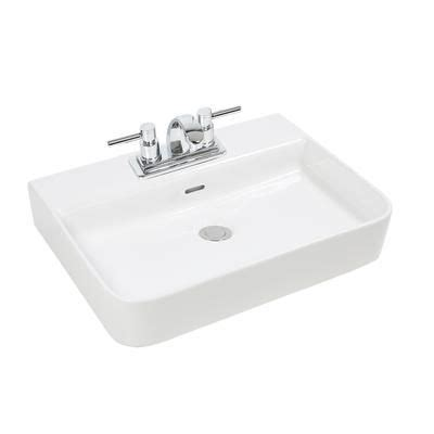 glacier bay bathroom sinks glacier bay rectangular vessel lavatory 13 0150 4w gb