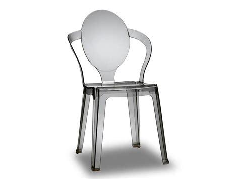 sedie plastica trasparente sedia in plastica trasparente spoon