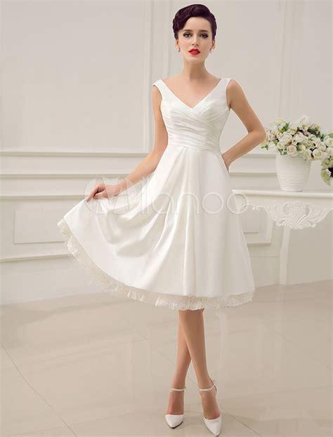 Hochzeitskleider Knielang Schlicht by Modest Ideas Simple Wedding Dress Wedding