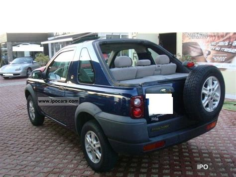 land rover freelander 2000 2000 land rover freelander td4 air hardtop car photo and