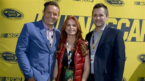 Roma Downey And Burnett Engaged by Burnett Working On Scripted Nascar Tv Series Ncaa