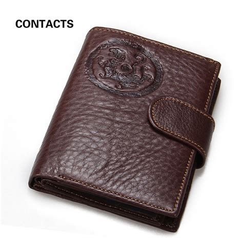 Passport Holder Mirror Quality Limited top quality guarantee genuine leather mens passport holder wallets muti functional id card