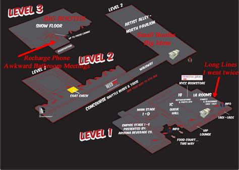 javits center map new york comic con 2013 day one report rob patey s comic