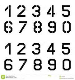 roman numbers tattoo n 250 meros de fuente angulares de la plantilla ilustraci 243 n