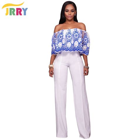 floral pattern jumpsuits jrry casual strapless floral pattern loose women jumpsuit