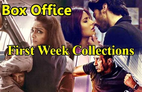 box office 2016 this week mbc2 box office top 10 first week collection of bollywood