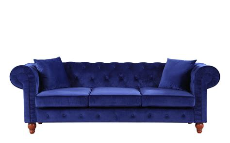 Stratford Classic Velvet Fabric Chesterfield Sofa Chesterfield Sofa Velvet Fabric