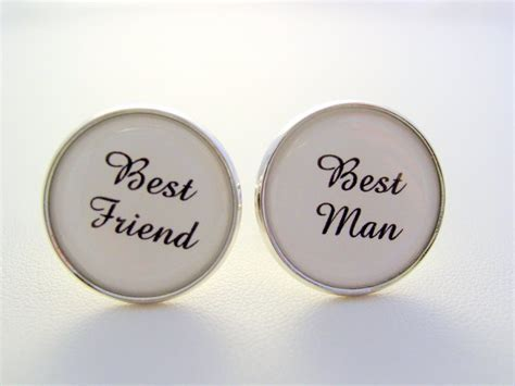 Wedding Gift Best Man Best Friend Cufflinks ? JJsCollections