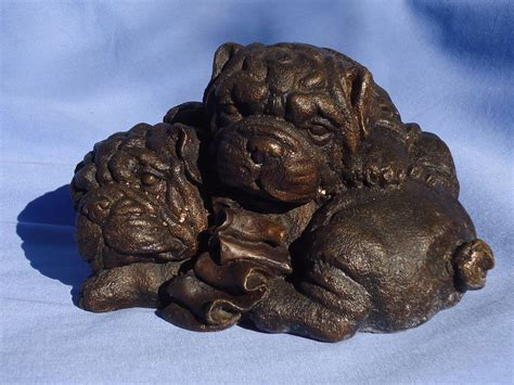 pug breeders in arkansas bronze pug puppies 8 quot from morninglineantiques on ruby