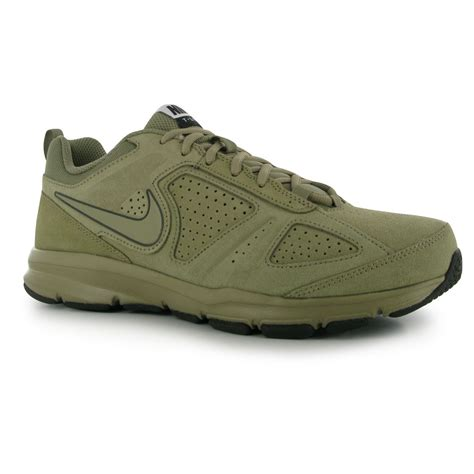nike t lite xi nubuck trainers mens bamboo brown sneakers