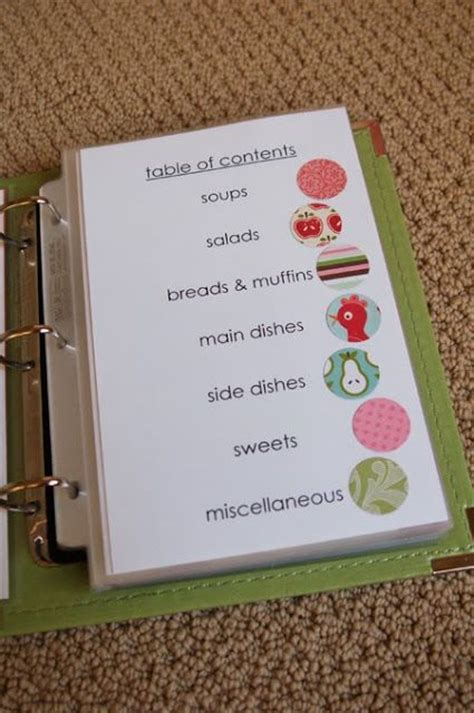 diy recipe book template 25 best ideas about cookbook on