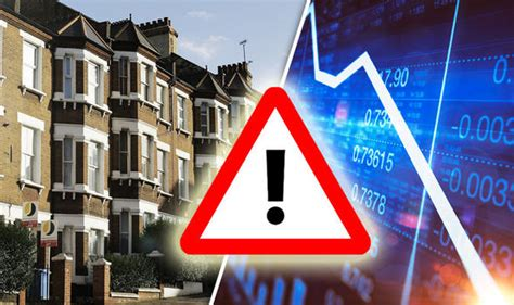 house price crash house prices property crash draws closer as uk growth comes to a standstill experts