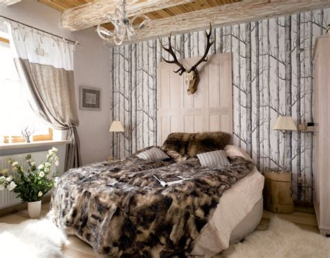 forest bedroom decor charming cottage with attention to detail decoholic
