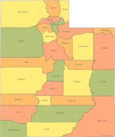 State Of Utah Map by Map Of Utah