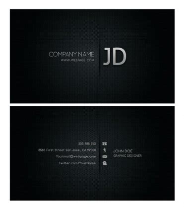 business card template psd free business template