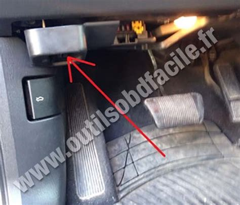 obd connector location  jeep grand cherokee wj   outils obd facile