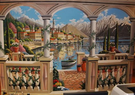 italian wall mural italian murals gallery
