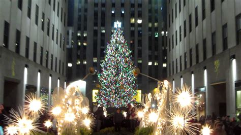 happy holidays from the rockefeller center christmas tree