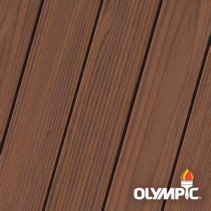olympic maximum  gal dark mahogany semi transparent