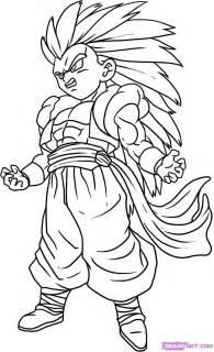 draw gotenks step step dragon ball characters anime draw japanese anime draw