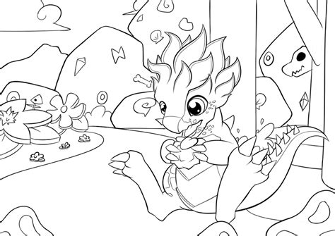 coloring pages dragon mania legends agavedragon coloring picture dragonmanialegends by