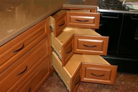 Kitchen Corner Drawers by Maximizing Kitchen Storage Keystone Remodeling
