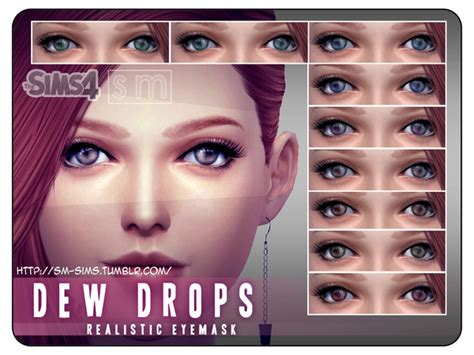 sims 4 realistic eyes the sims resource realistic eye mask by screaming mustard