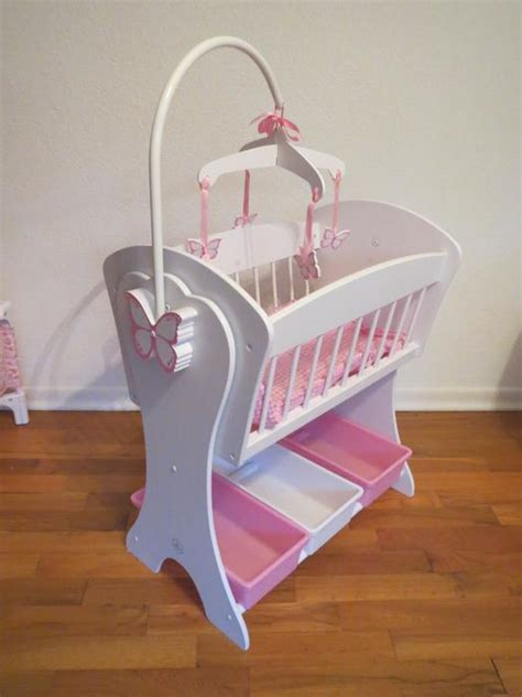 Baby Doll Crib And Highchair Baby Doll Crib Stroller Playpen Highchair Diaperbag Oak Bay