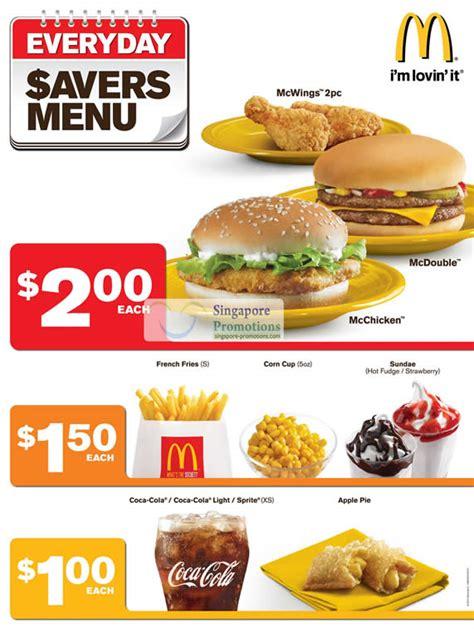 Sale Mainan Family Meal Set mcdonald s menu prices may 2018 singpromos