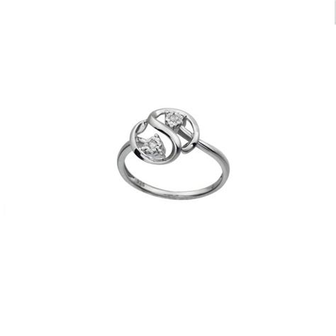 promise ring with diamonds best friend white gold by nautigold