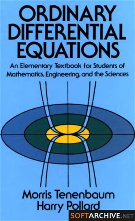 elementary theory of equations classic reprint books niengroem s differential equations textbook