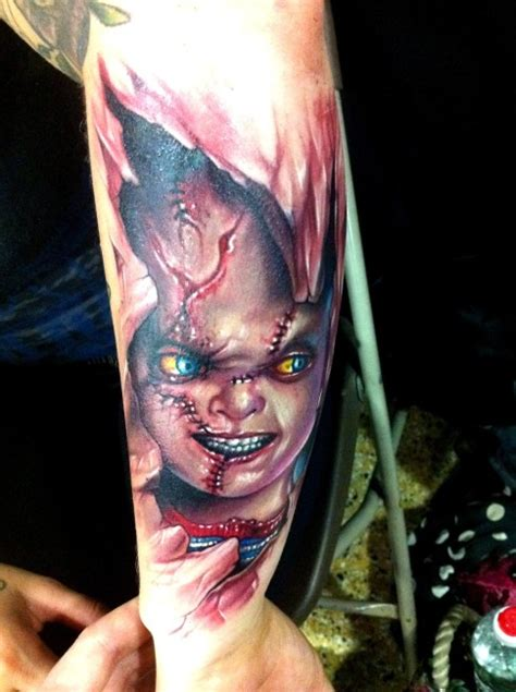 best tattoos of chucky from child s play perfect tattoo