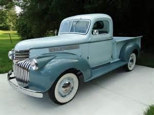 1945 chevrolet trucks