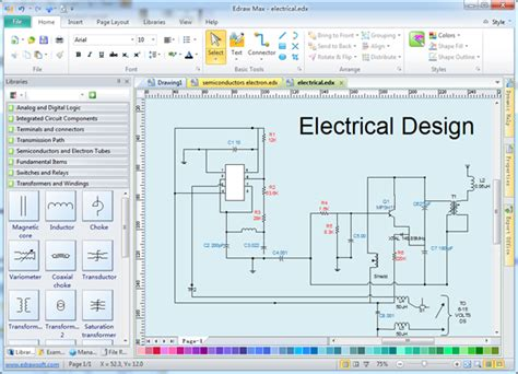 industrial electrical cabinet wiring diagram industrial