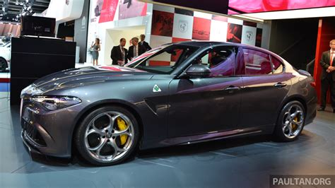 Who Makes Alfa Romeo by Frankfurt 2015 Alfa Romeo Giulia Quadrifoglio Makes