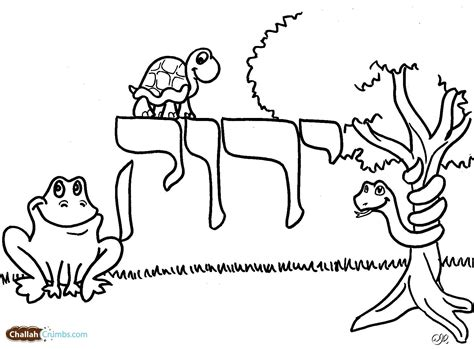 colors in hebrew coloring pages jewish culture