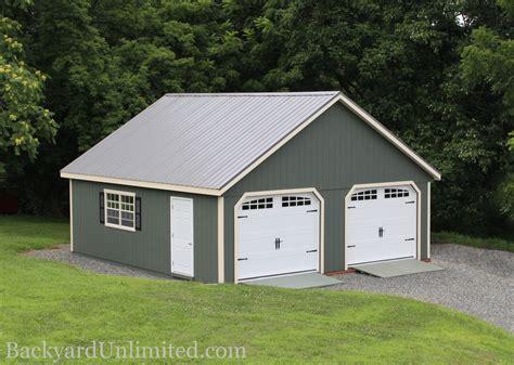 Garages & Large Storage Multi Car Garages Backyard Unlimited