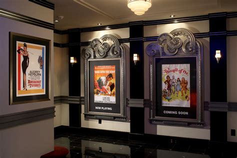 Home Theater Design New York City by Home Theatre Entry Hall