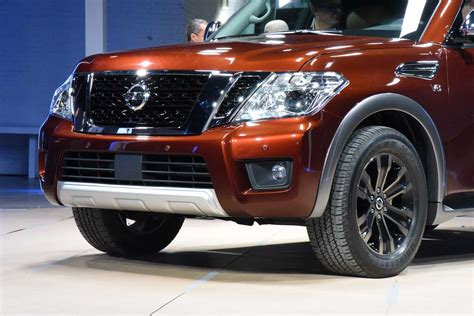 towing capacity nissan armada 2017 nissan armada unveiled with 8 500 pound towing