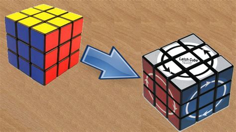 tutorial cubo de rubik 2x2 tutorial modificaci 243 n para hacer un latch cube youtube