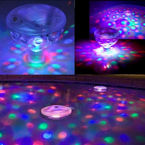 bathtub party light underwater led floating disco light show bath tub swimming