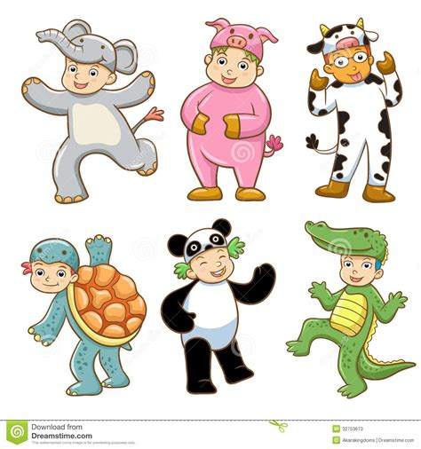 clipart animals animal costume clipart