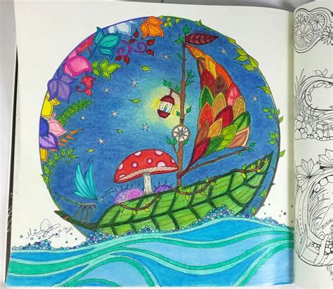enchanted forest coloring book coloring for grown ups given to see