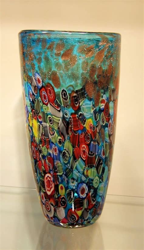 Handblow Top 17 best images about millefiori on antiques glass paperweights and glass vase