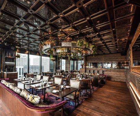 Kitchen Design Rustic luxury nightlife destination c 201 la vi lands in hong kong