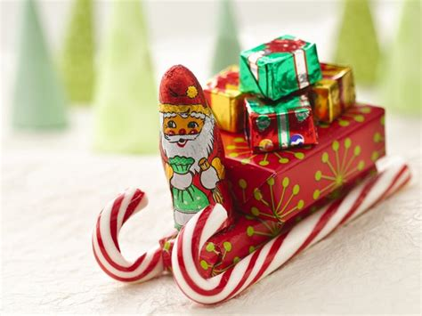 christmas candy cane sleigh crafts ideas kubby