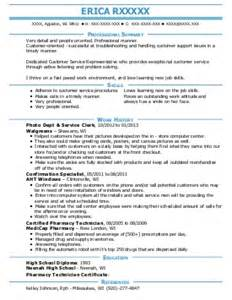 customer service rep resume exle at t greensboro