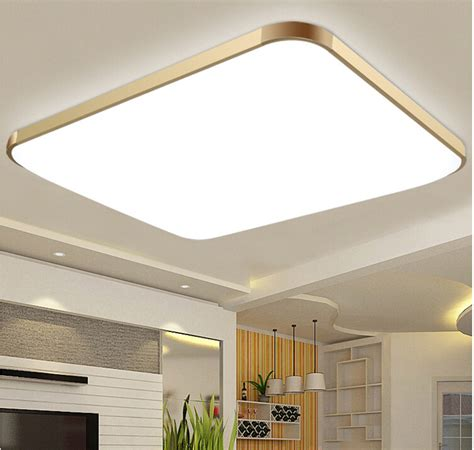 Free Shipping Dhl 2015modern Led Apple Ceiling Ligh Square Led Kitchen Ceiling Lights