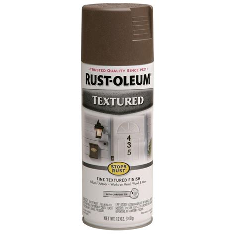 rust oleum professional 15 oz black flat protective enamel spray paint 7578838 the home depot